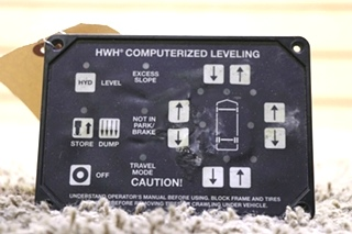 USED RV AP25650 HWH COMPUTERIZED LEVELING TOUCH PAD FOR SALE