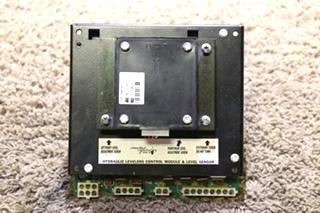 USED RV 02753-01H MILWAUKEE CYLINDER HYDRAULIC LEVELERS CONTROL MODULE & LEVEL SENSOR FOR SALE