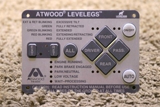 USED RV ATWOOD LEVELEGS 66555 LEVELING TOUCH PAD FOR SALE