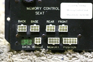 USED MEMORY CONTROL SEAT SWITCH RV PARTS FOR SALE