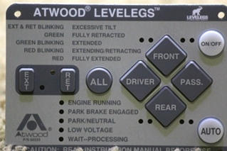 NEW RV ATWOOD LEVELEGS 66555 TOUCH PAD MOTORHOME PARTS FOR SALE