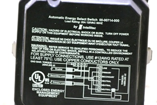 USED AUTOMATIC ENERGY SELECT SWITCH FOR SALE RV PARTS