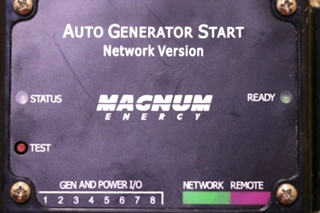 USED RV MAGNUM ENERGY AUTO GENERATOR START WITH WIRING HARNESS FOR SALE