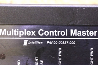 USED MOTORHOME 00-00837-000 MULTIPLEX CONTROL MASTER BY INTELLITEC FOR SALE