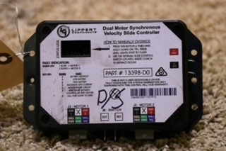 USED 13398-D0 DUAL MOTORHOM SYNCHRONOUS VELOCITY SLIDE CONTROL MOTORHOME PARTS FOR SALE