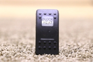 USED MOTORHOME V1D1 BLOCK HEAT DASH SWITCH FOR SALE