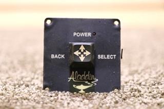 USED RV ALADDIN JOYSTICK DASH SWITCH MOTORHOME PARTS FOR SALE