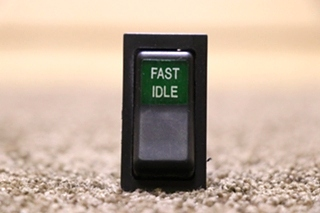 USED RV FAST IDLE 511.058 DASH SWITCH FOR SALE
