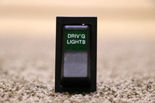 USED DRIV'G LIGHTS DASH SWITCH RV PARTS FOR SALE