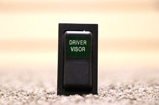 USED MOTORHOME DRIVER VISOR DASH SWITCH FOR SALE