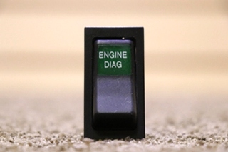 USED ENGINE DIAG MOTORHOME DASH SWITCH FOR SALE