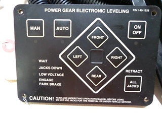 Rv Components New Power Gear Class A Electric Leveling