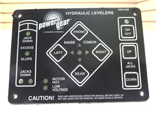 POWER GEAR LEVEL TOUCH PAD 500105E NEW OLD STOCK FOR SALE