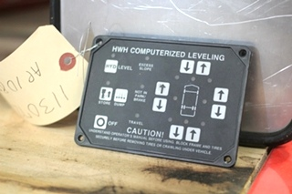 USED RV/MOTORHOME HWH CORPORATION LEVELING TOUCHPAD MODULE PN: AP1087 *OUT OF STOCK*