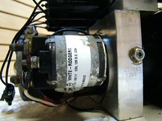 USED HWH LEVELING PUMP FOR MOTORHOME **OUT OF STOCK**