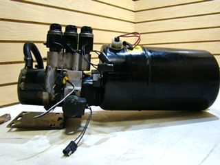 USED POWER GEAR LEVELING SYSTEM PUMP FOR SALE  **OUT OF STOCK**