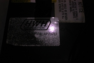 USED HWH HYDRAULIC PUMP P/N AP29281 FOR SALE