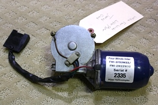 USED WEXCO FOUR WINDS WIPER MOTOR FOR SALE