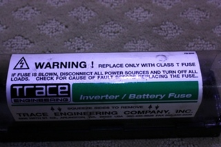 USED INVERTER BATTERY FUSE