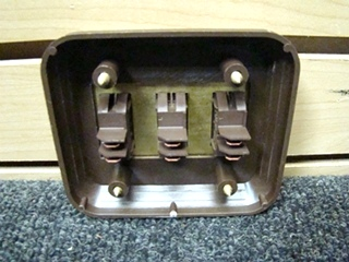 NEW/OLD STOCK RV/MOTORHOME 3WAY GOLD/BROWN SWITCH P/N:4.128.745