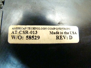 USED DUAL CURRENT SENSING SLIDEOUT CONTROL AT-CSR-013 PRICE: $47.00 + $8.99 SHIPPING