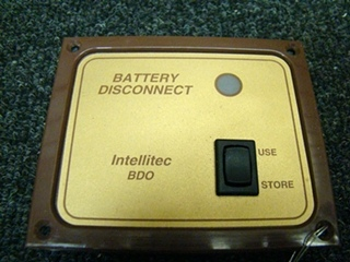 USED RV/MOTORHOME BATTERY DISCONNECT SWITCH INTELLTEC BDO PRICE:$42.00