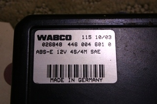 USED 2005 WABCO ABS CONTROL BOARD 4460046010 FOR SALE
