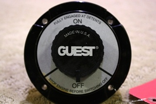 USED GUEST BATTERY SWITCH FOR SALE