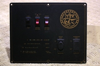 USED TIFFIN MONITOR SYSTEM PANEL FOR SALE