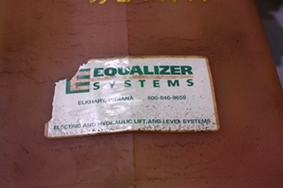 USED EQUALIZER HYDRAULIC PUMP FOR SALE