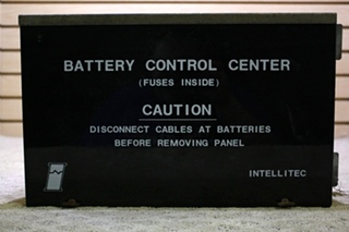 USED INTELLITEC BATTERY CONTROL CENTER 00-00287-001 FOR SALE