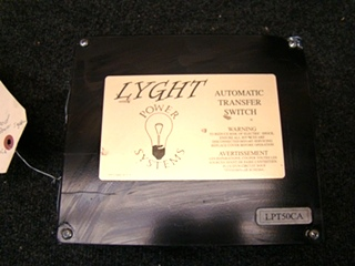 USED RV/MOTORHOME LYGHT AUTOMATIC TRANSFER SWITCH