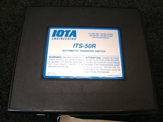 USED RV/MOTORHOME IOTA AUTOMATIC TRANSFER SWITCH BOX