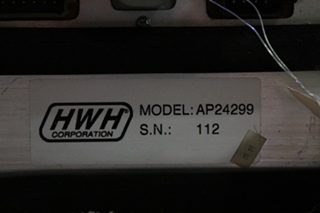 USED HWH LEVELING CONTROL BOX 2000 SERIES FOR SALE