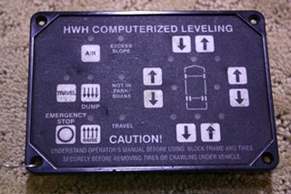 HWH COMPUTERIZED LEVELING TOUCH PAD FOR SALE