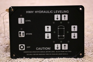 USED HWH HYDRAULIC LEVELING TOUCH PAD AP19691 FOR SALE
