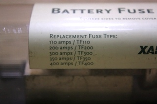 USED INVERTER/BATTERY FUSE 270-0069-01-01 REV A FOR SALE