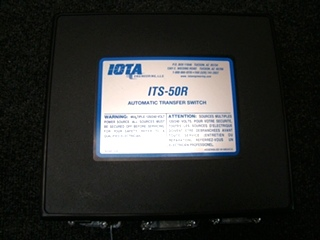 USED RV/MOTORHOME IOTA ITS-50R AUTOMATIC TRANSFER SWITCH BOX