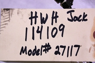 USED HWH LEVELING JACK CYLINDER AP27117 FOR SALE