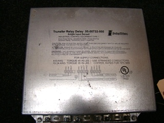 USED RV/MOTORHOME INTELLITEC RELAY DELAY TRANSFER SWITCH BOX