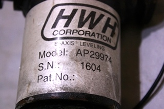 USED HWH LEVELING JACK CYLINDER AP29974 FOR SALE