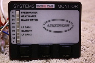 USED AIRSTREAM SYSTEMS MONITOR FOR SALE