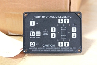 USED RV/MOTORHOME HWH CORPORATION LEVELING SYSTEM TOUCH PAD CONTROLLER PN: AP3134 *OUT OF STOCK*