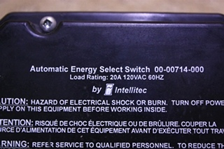 USED AUTOMATIC ENERGY SELECT SWITCH 00-00714-000 FOR SALE