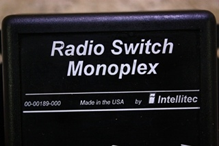 USED RADIO SWITCH MONOPLEX 00-00189-000 FOR SALE