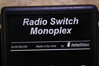 USED RADIO SWITCH MONOPLEX 00-00189-000 FOR SALE