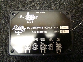 USED RV/MOTORHOME ALADDIN DC INTERFACE MODULE REV.3.00