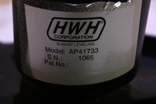 USED HWH LEVELING JACK AP41733 FOR SALE  **OUT OF STOCK**