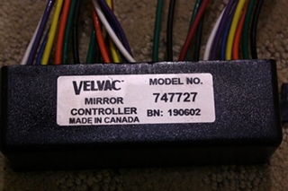 USED VELVAC MIRROR CONTROLLER 747727 FOR SALE