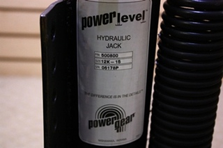 POWER GEAR LEVELING JACK 500800 FOR SALE